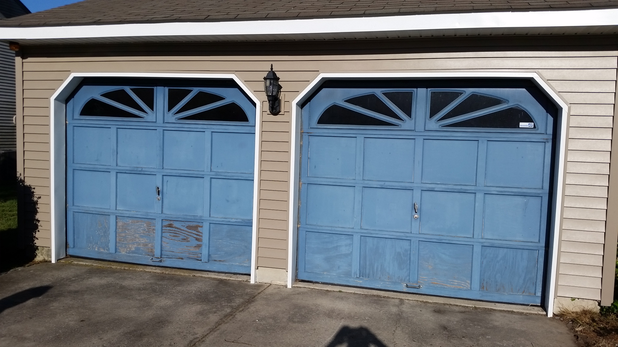 clopay garage door replacement