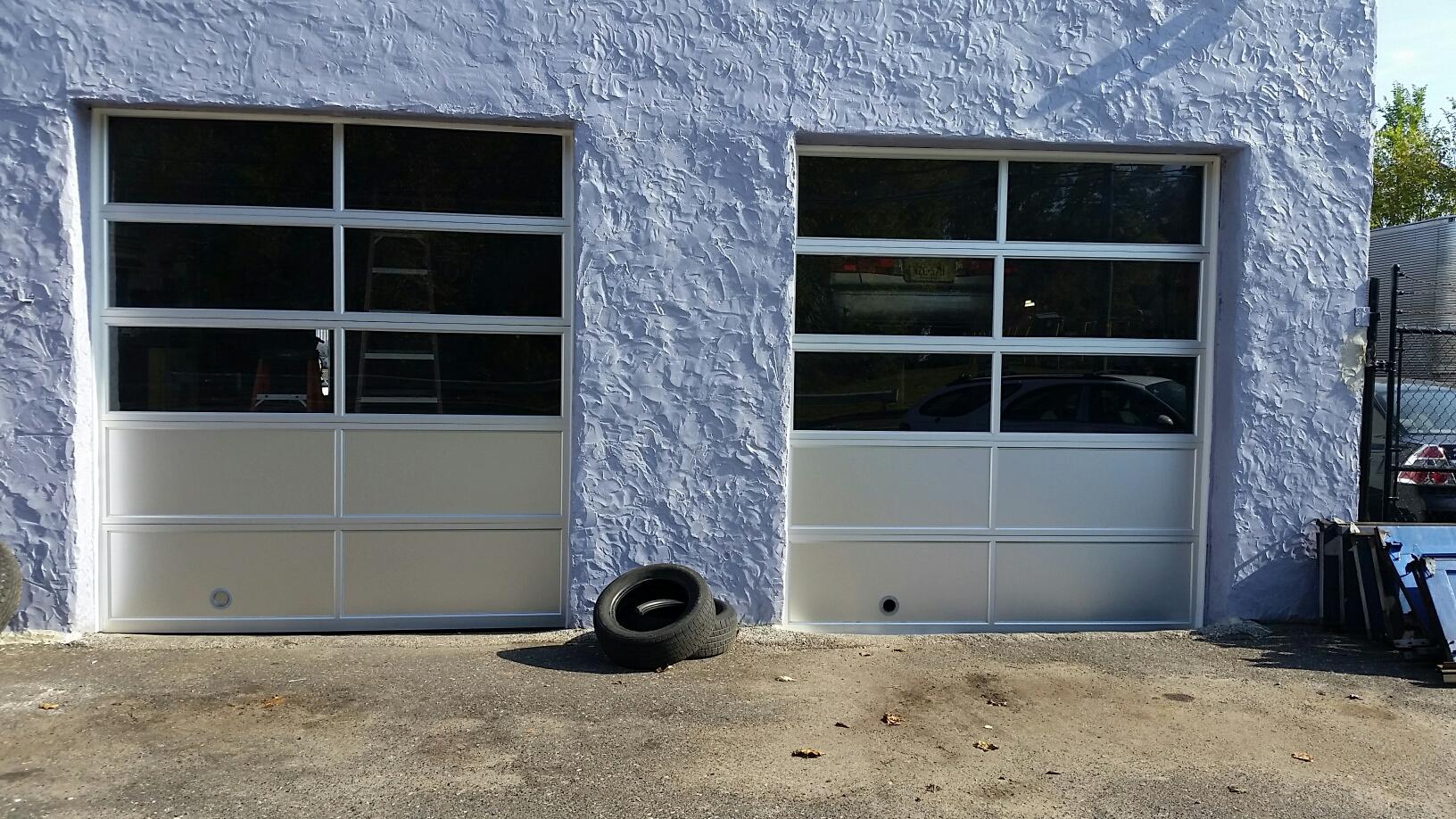 general commercial garage door after