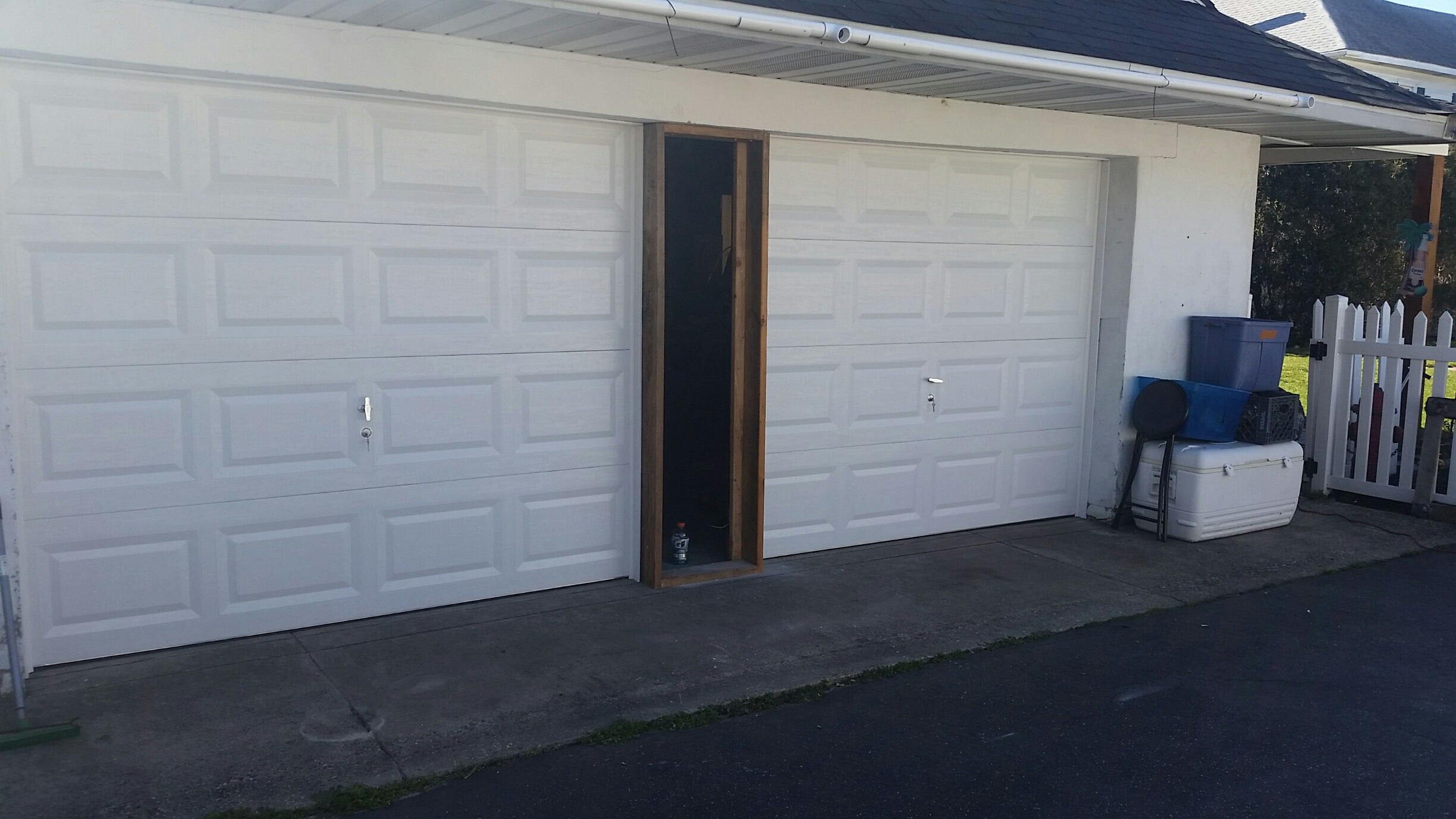 Berlin, NJ custom garage door repair after