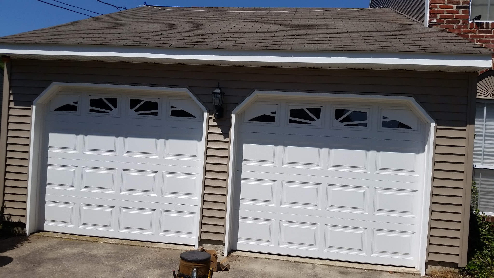 new clopay garage door install
